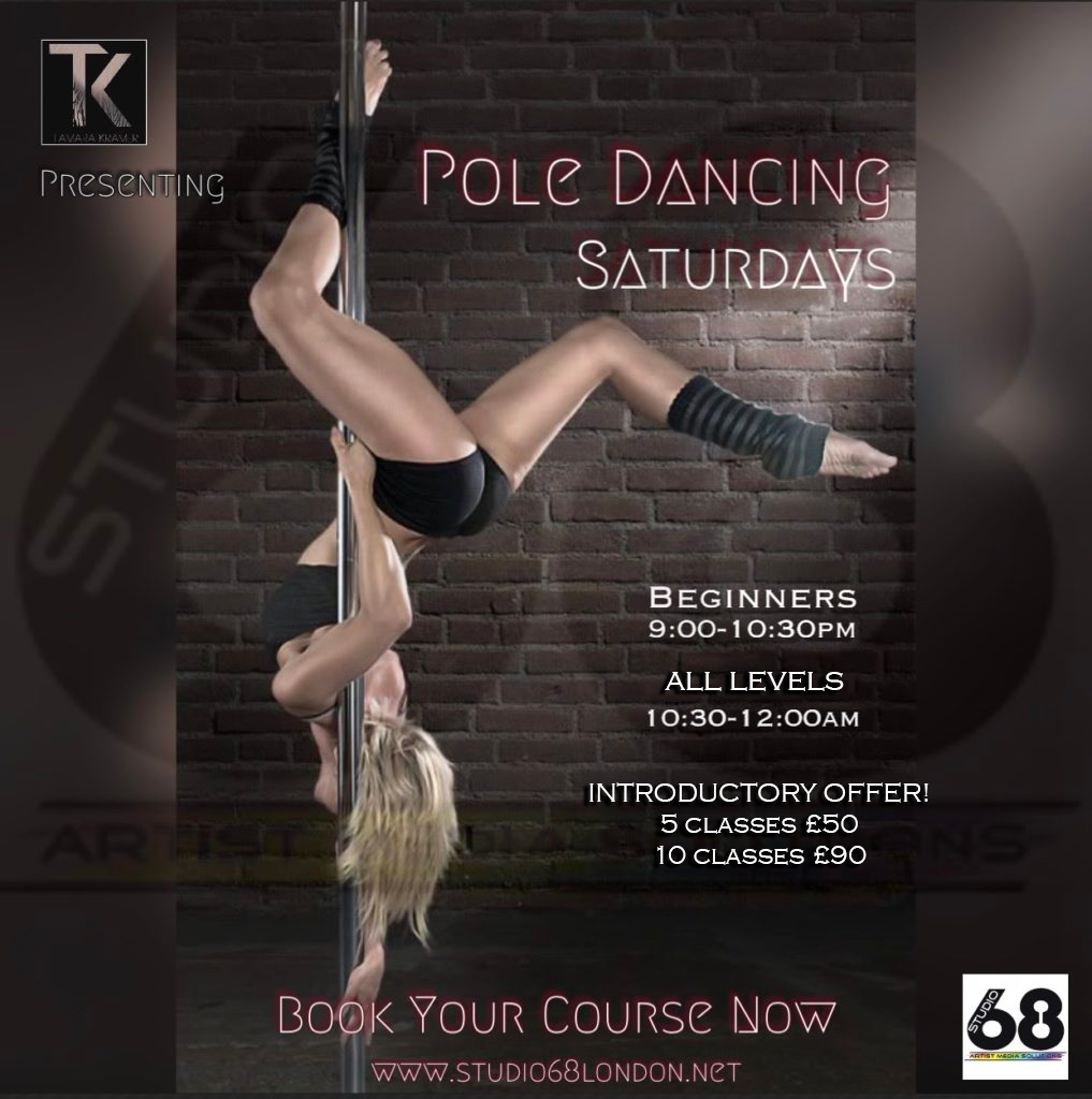 Pole Dancing Flyer