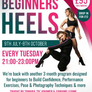 Beginners Heels