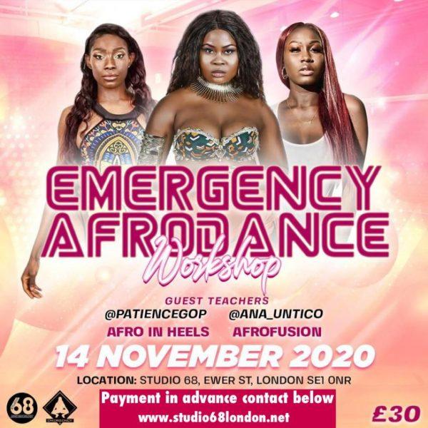 Emergency Afrodance Workshop