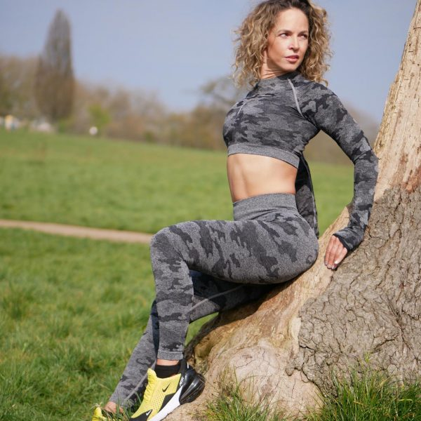 Camouflage Leggings and Top Set