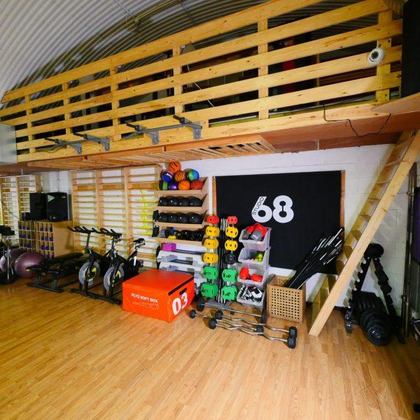 Fitness Equipment in the LA Studio